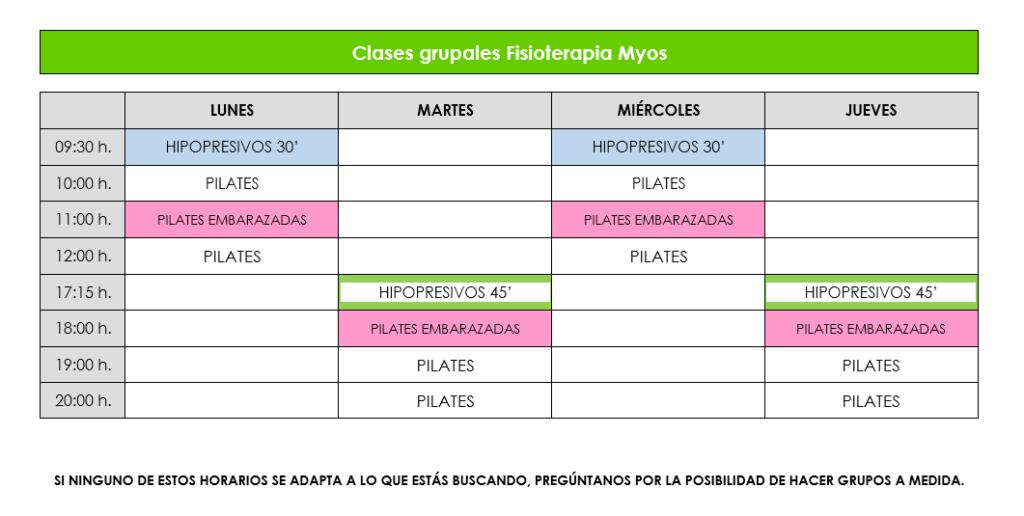 CLASES GRUPALES FISIOTERAPIA MYOS mayo 2018 1024x516 - Pilates