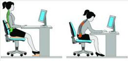 corrección postural